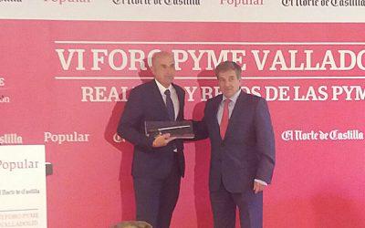 SOLTRA, Matarromera, Gaza y Justo Muñoz ganan los Premios PYME Castilla y León
