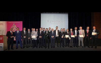 Entrega de los X Premios Castilla y León Económica