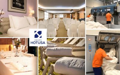 La cadena Hotusa confía a Soltra la lavandería de sus hoteles