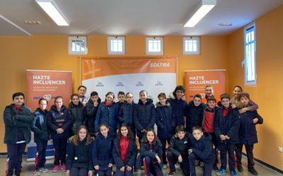 Escolares del colegio Discipulas de Jesús de León visitan SOLTRA