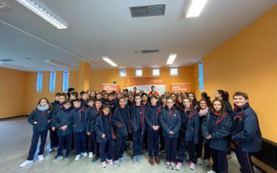 El Colegio Leonés visita SOLTRA dentro de la campaña Hazte Incluencer
