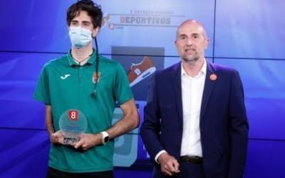 SOLTRA entrega el Premio Inclusión en el Deporte a Daniel Pérez Martínez