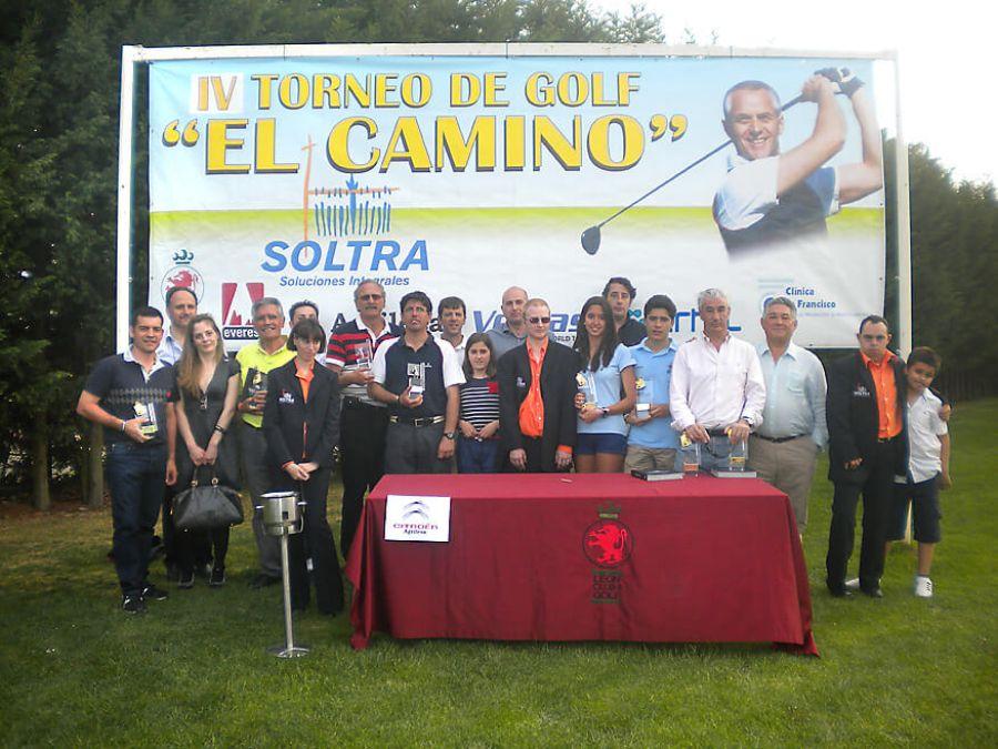 Éxito de participación en el IV Torneo de Golf EL CAMINO