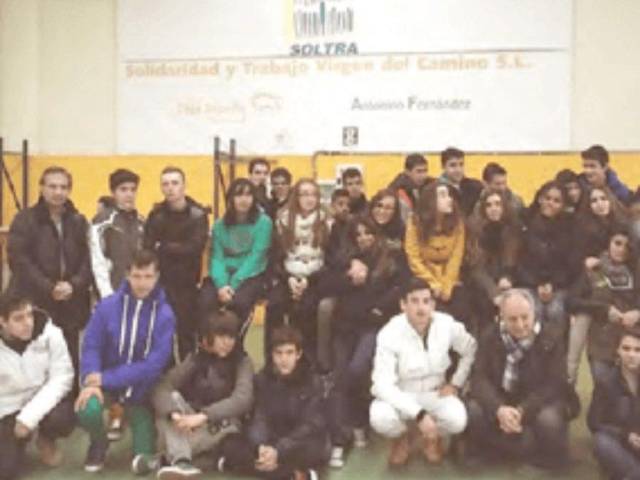 Visita a las instalaciones de SOLTRA de alumnos del  IES PADRE ISLA de León