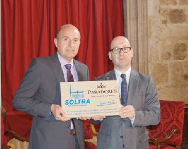 SOLTRA reconoce el apoyo recibido al Parador de San Marcos
