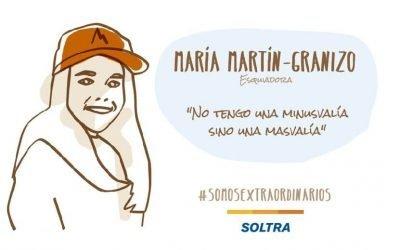 """María Martín-Granizo: """"Uno de mis mayores sueños es ir a las Paralimpiadas y a la Copa del Mundo"""""""
