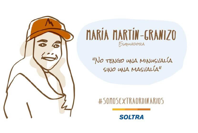 """María Martín-Granizo: """"Uno de mis mayores sueños es ir a las Paralimpiadas"""""""