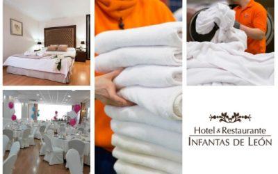 SOLTRA prestará servicio de lavandería al Hotel Fc Infantas de León