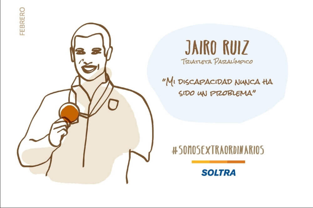 Jairo Ruiz, atleta de triatlón: «¿Por qué no soñar con otra medalla Paralímpica?»
