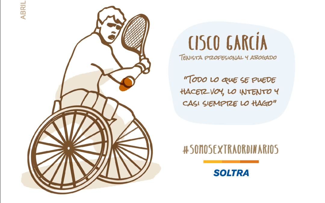 Cisco Garcia. Professional tennis player and lawyer. You always have to try