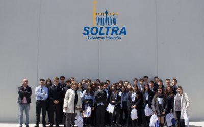 Visita de alumnos del Colegio Peñacorada a SOLTRA