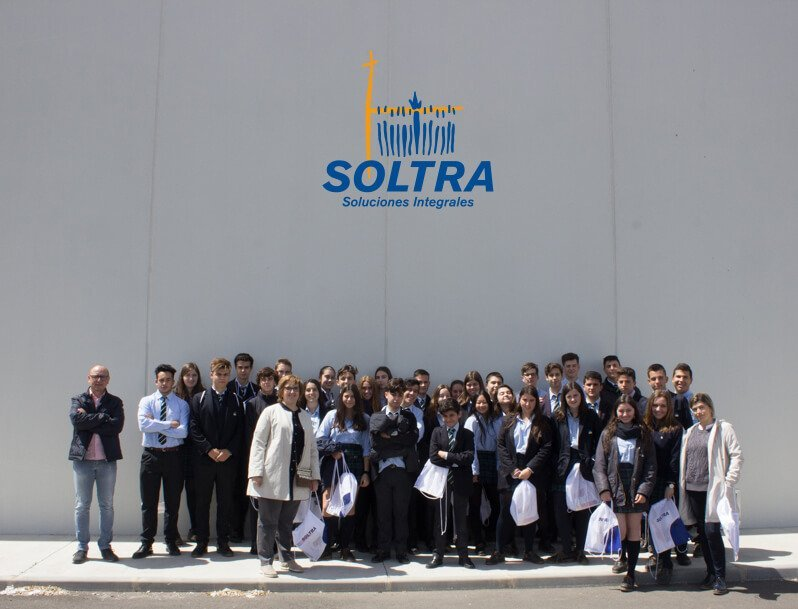 Visit of students of the Peñacorada College to SOLTRA