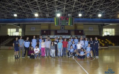 Abanca Ademar handball team shares training with SOLTRA
