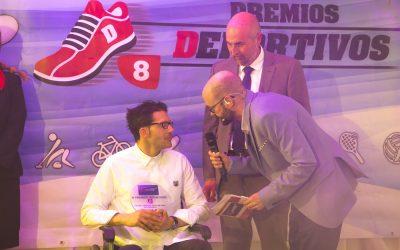 SOLTRA entrega el premio Valores Deportivos 2019 a Iván Bragado