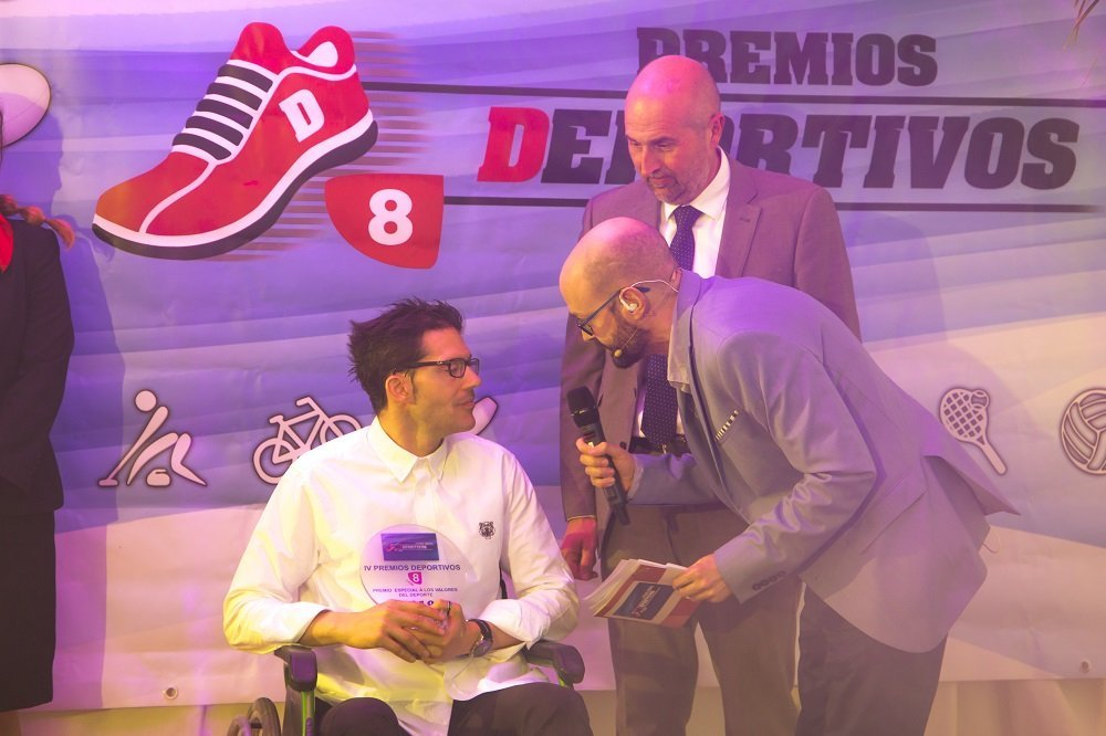 SOLTRA presents the 2019 Sports Values award to Iván Bragado