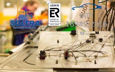 IATF 16949 un nuevo paso en la politica de calidad de SOLTRA