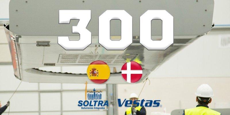 SOLTRA alcanza la producción de su máquina 300 en Dinamarca