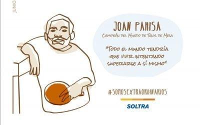 Joan Pahisa, un pequeño gran hombre y todo un campeón