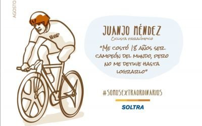Juanjo Méndez, the dream follower. Paralympic cyclist. World Champion