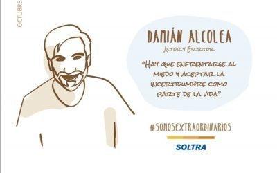 "Damián Alcolea : ""Self acceptance is the key to change"""