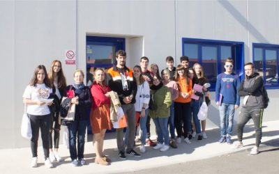 Students of the bachelor degree in Social Work visit SOLTRA