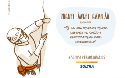 "Miguel Ángel Gavilán, mountaineer : "" In the mountain you overcome challenges"""