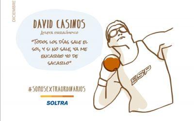 David Casinos, medallista paralímpico. Una historia de superación