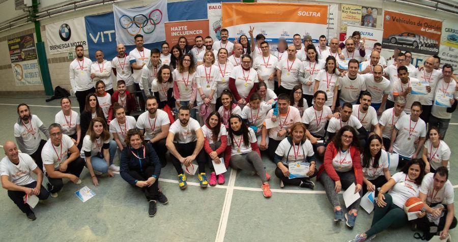 Jornada de convivencia deportiva: Soltra y Fundación Decathlon