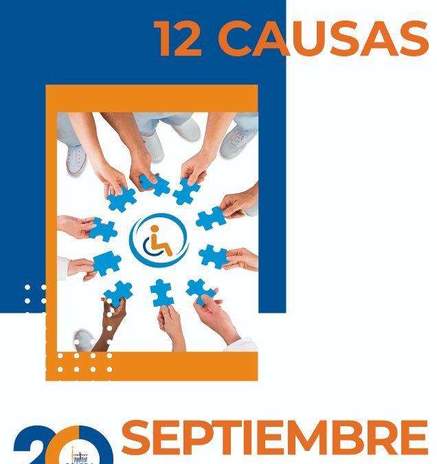 Un Septiembre por la Inclusión: 12 meses 12 causas.