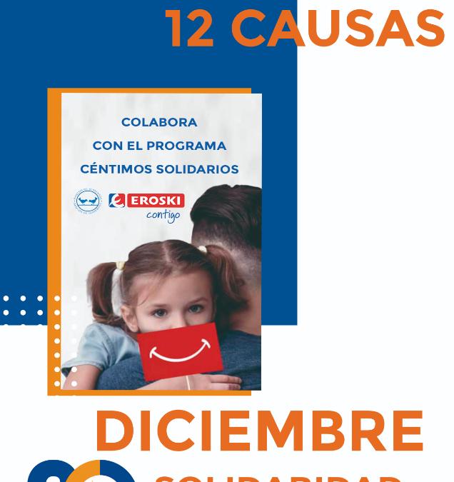 En Navidad, Solidaridad: Un 12 meses 12 causas muy especial