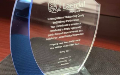 CINIA receives award as strategic provider of Laerdal Medical Corporation